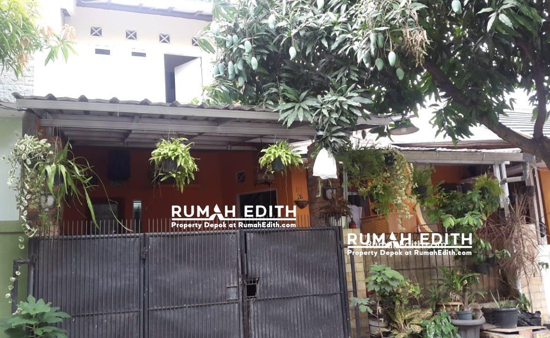 Dijual Rumah second di Vila Mutiara Cinere Depok, 2 lantai siap huni 650juta