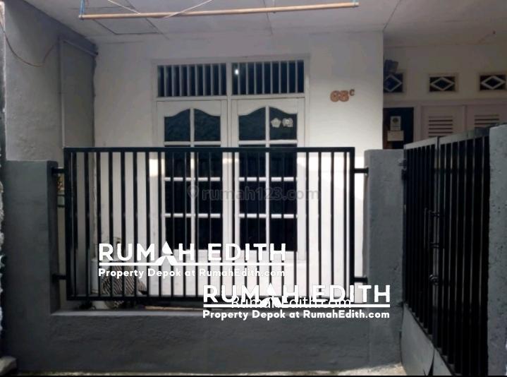 Dijual Rumah Second Murah di Beji Depok 400 jt letak strategis Akses Motor