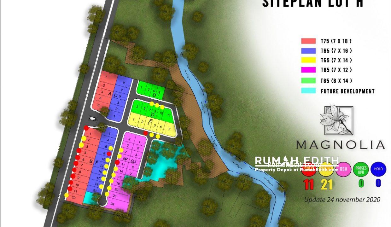 siteplan lot H
