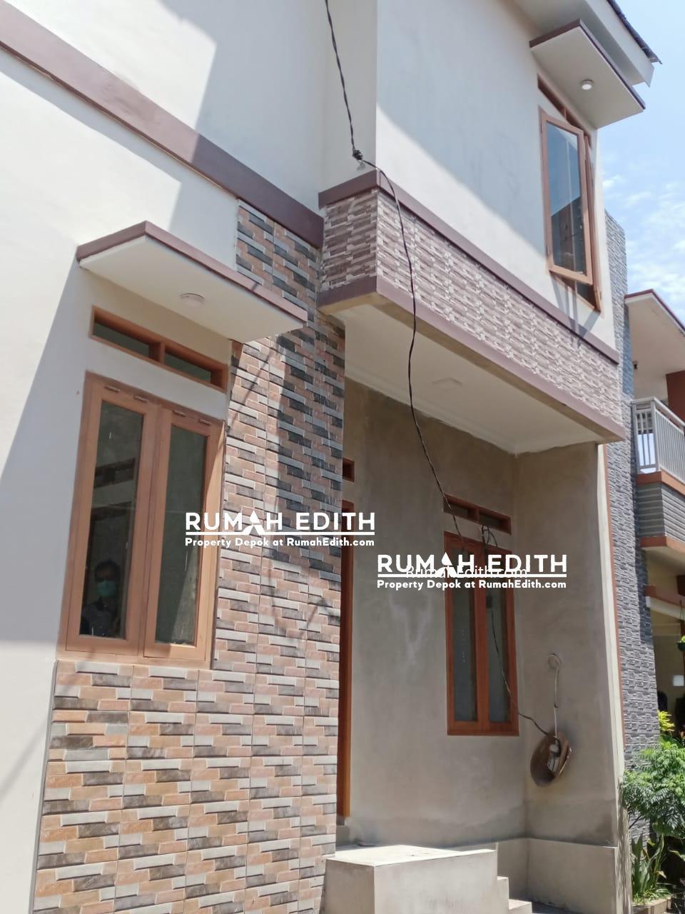Dijual Rumah di Rangkapan Jaya, Modern Minimalis 2 lantai 530 juta