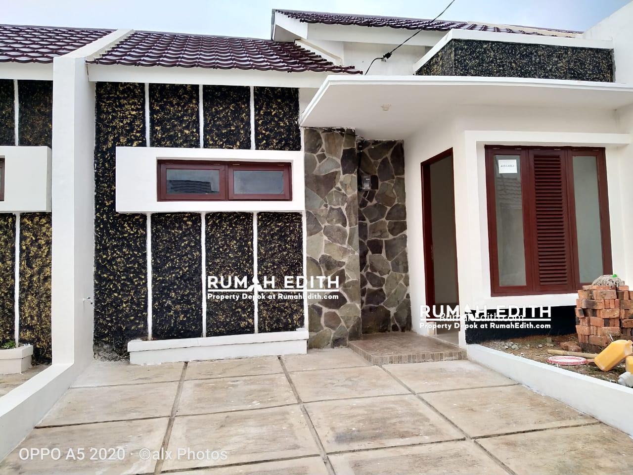 Dijual Rumah di Pasir Putih Depok, Tanpa DP  Ready Stock 500 jutaan