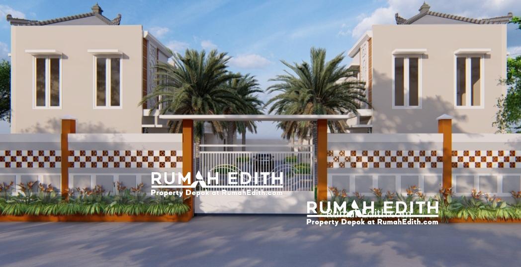 Rumah Cantik 2 Lantai dalam Kluster di Kelapa Dua Depok 750 juta 4
