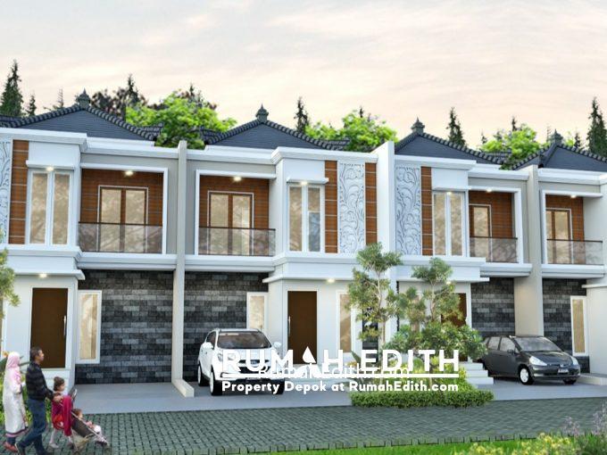 Rumah Cantik 2 Lantai dalam Kluster di Kelapa Dua Depok 750 juta