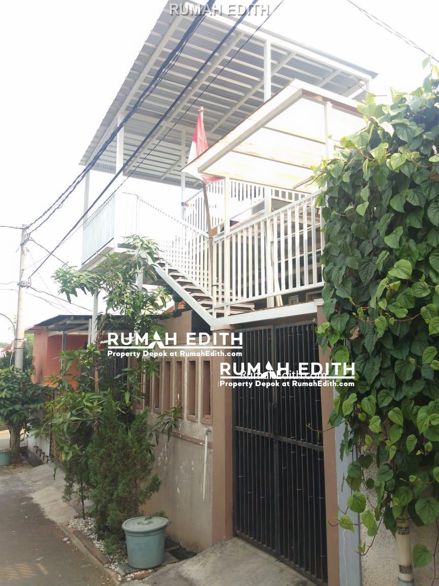 Dijual Rumah Second di Cinangka Depok, Cantik 2 Lantai 800 juta.