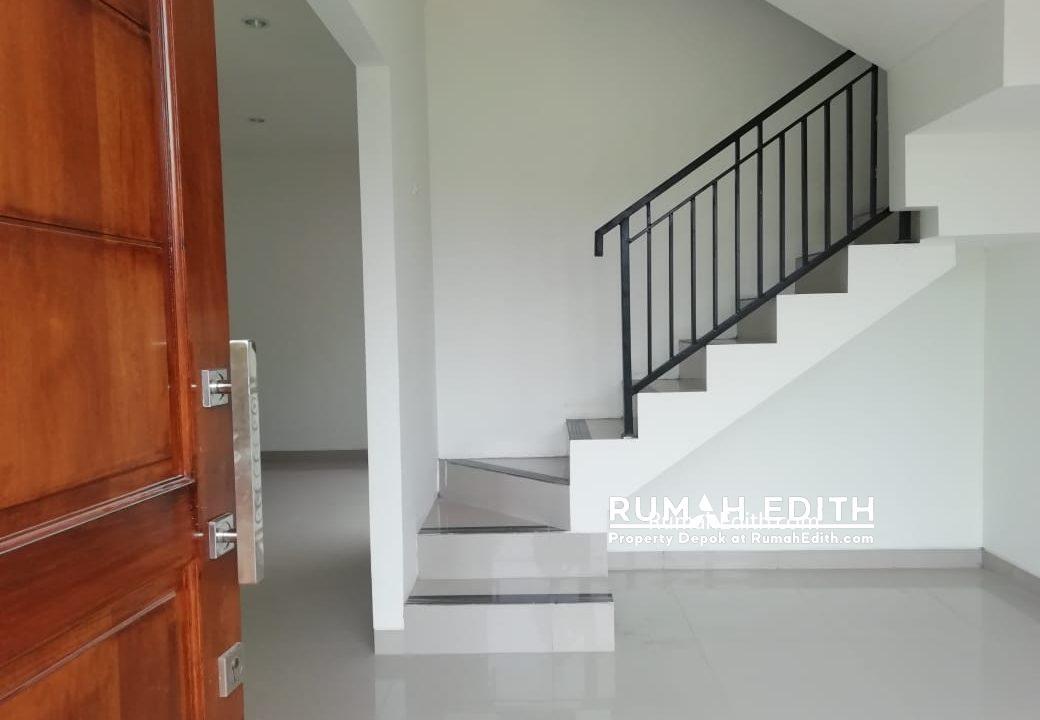 rumah edith Cluster 2 lantai nempel kawasan GDC free biaya2, booking 5 3