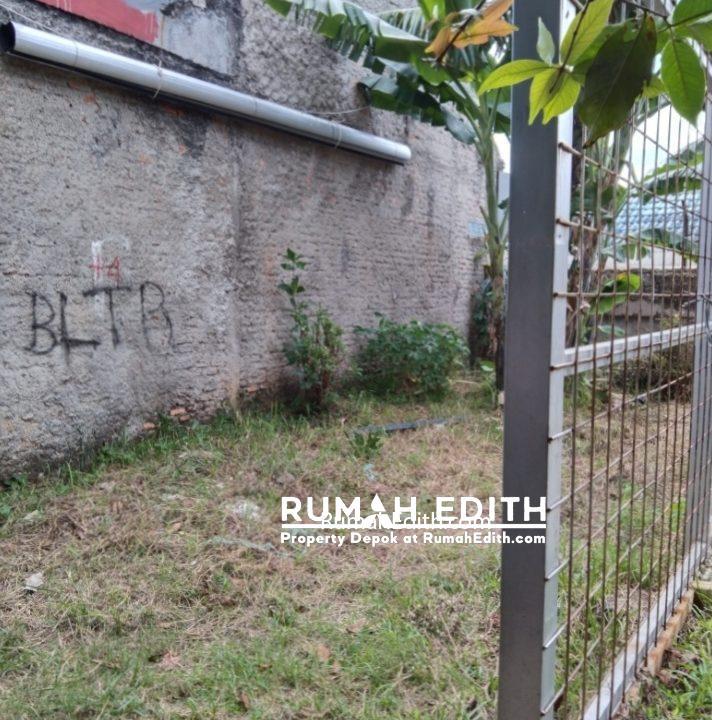 rumah edith Dijual Sebidang Tanah Dengan Luas 40 m2 di Depok 2 Timur 2
