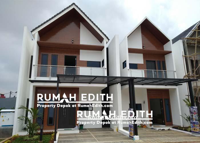 rumah edith Exclusive New Town House 2Lt di Jatiwaringin, harga mulai 1.1 M an 1x