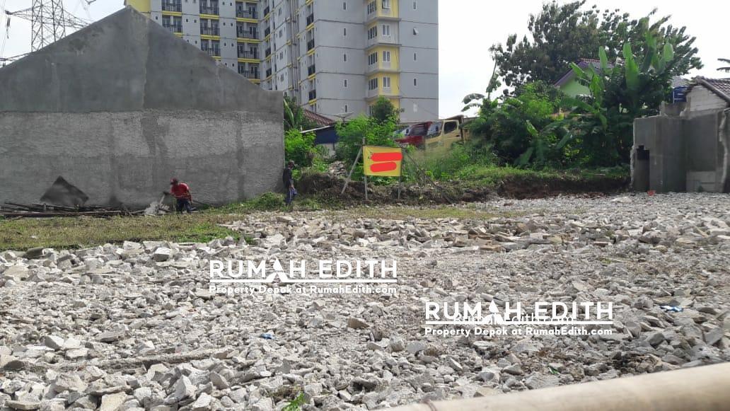 rumah edith Kavling siap bangun 3 jt per meter strategis di Rangkapan Jaya Depok 1