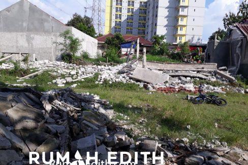 rumah edith Kavling siap bangun 3 jt per meter strategis di Rangkapan Jaya Depok 2