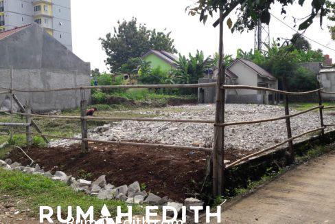 rumah edith Kavling siap bangun 3 jt per meter strategis di Rangkapan Jaya Depok 3