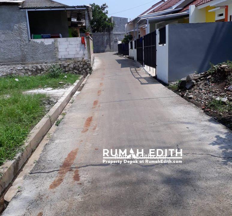 rumah edith Kavling siap bangun 3 jt per meter strategis di Rangkapan Jaya Depok 4