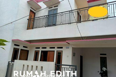 rumah edith Rumah Baru Megah Siap Huni 1.1 m di Tanah Baru Beji Depok 1