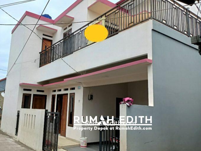 rumah edith Rumah Baru Megah Siap Huni 1.1 m di Tanah Baru Beji Depok