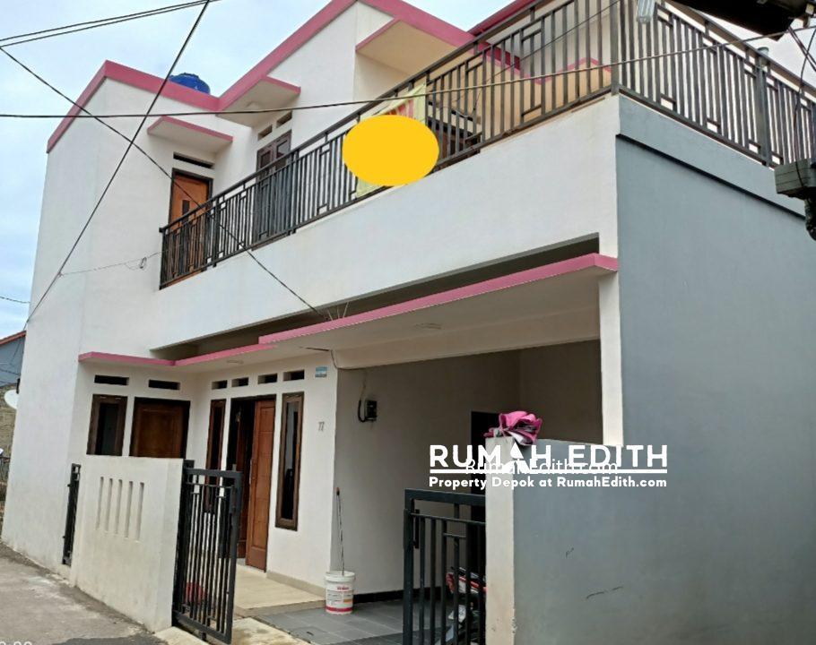 rumah edith Rumah Baru Megah Siap Huni 1.1 m di Tanah Baru Beji Depok 2
