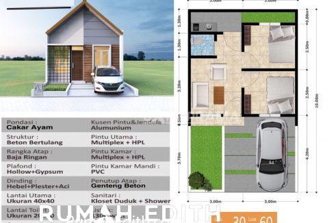 rumah edith Rumah Muslim Cantik dan Minimalis Dramaga 300 jutaan Tanpa Bank 11