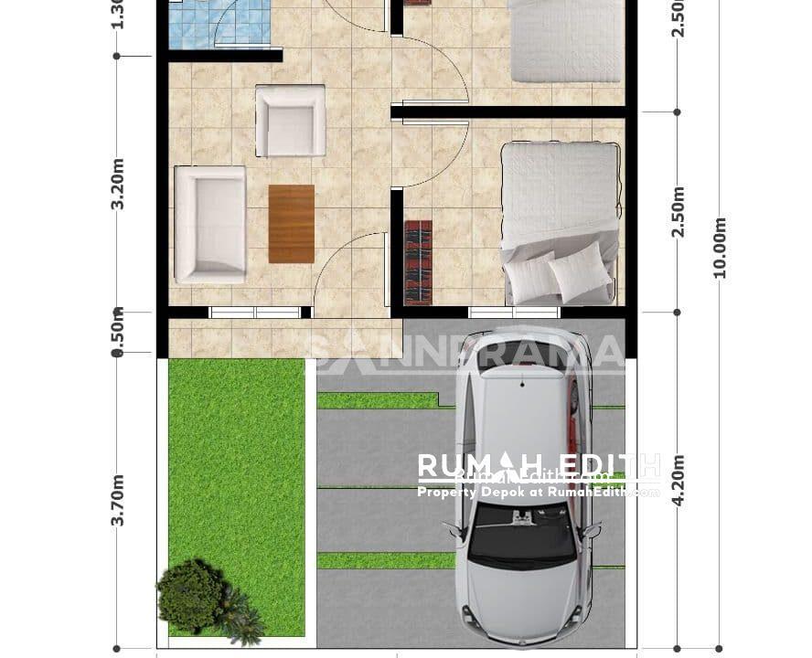 rumah edith Rumah Muslim Cantik dan Minimalis Dramaga 300 jutaan Tanpa Bank 12