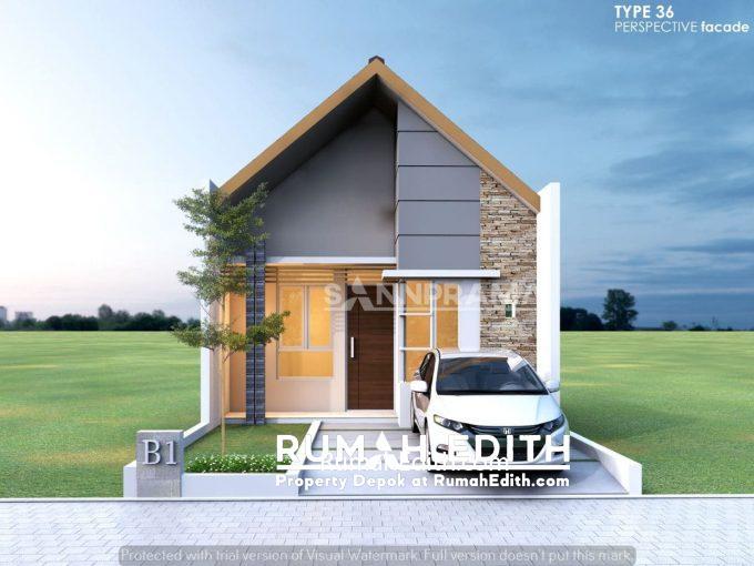 rumah edith Rumah Muslim Cantik dan Minimalis Dramaga 300 jutaan Tanpa Bank