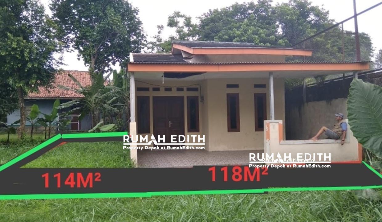 Dijual Rumah Second di Bojongsari Depok. tanah 232 m2, 700 juta
