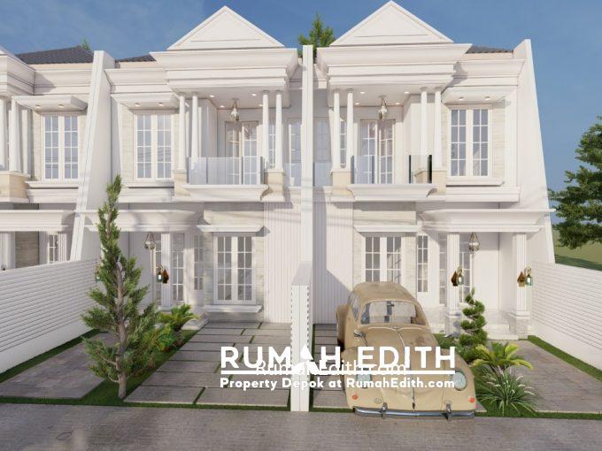 rumah edith Rumah cantik 2 lt mulai 1 M an di kawasan GDC Depok