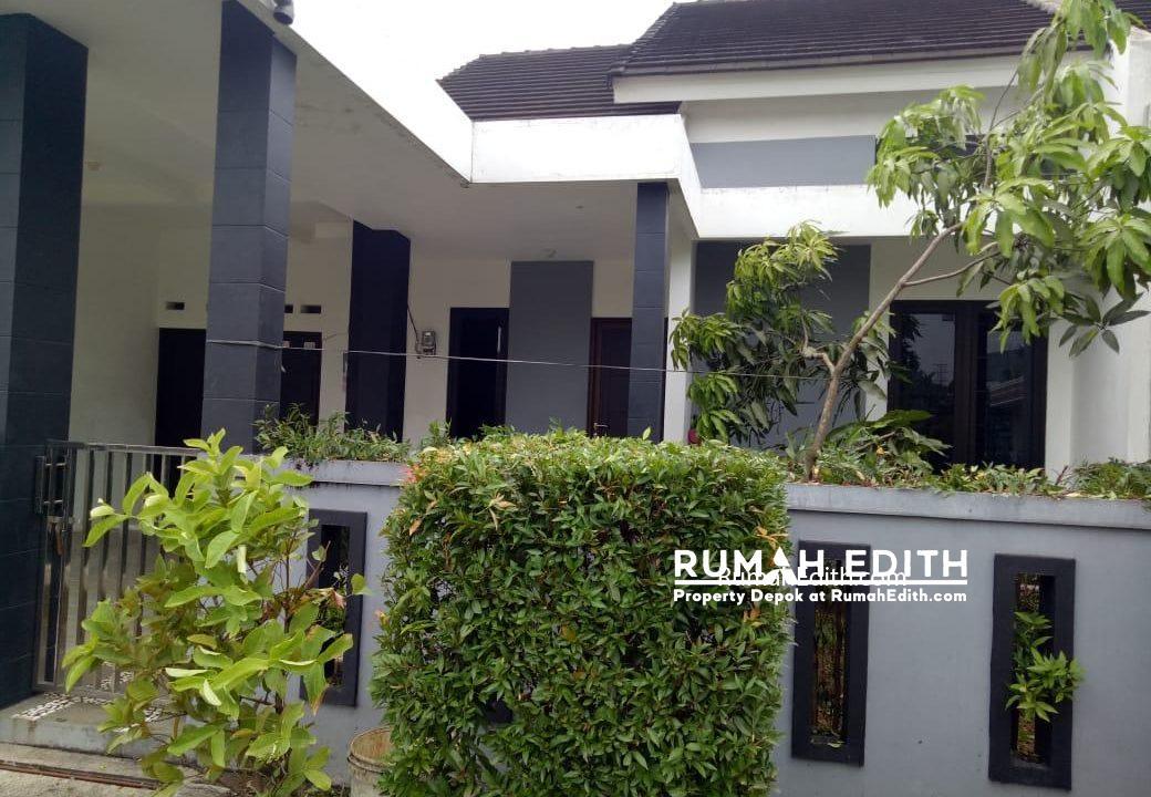 rumah edith Rumah second dalam cluster 900 juta dekat stasiun Cilebut Bogor 1