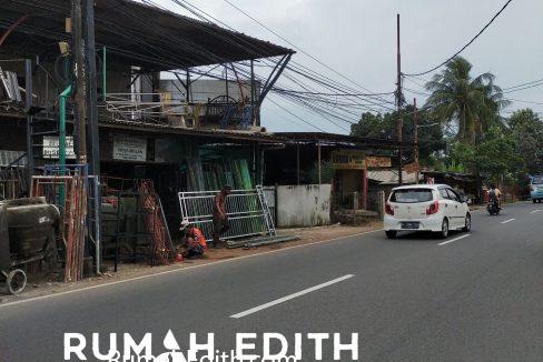 rumah edith Tanah pinggir jalan strategis di Jl. M Kahfi 1 Jak Sel 390 m2 2