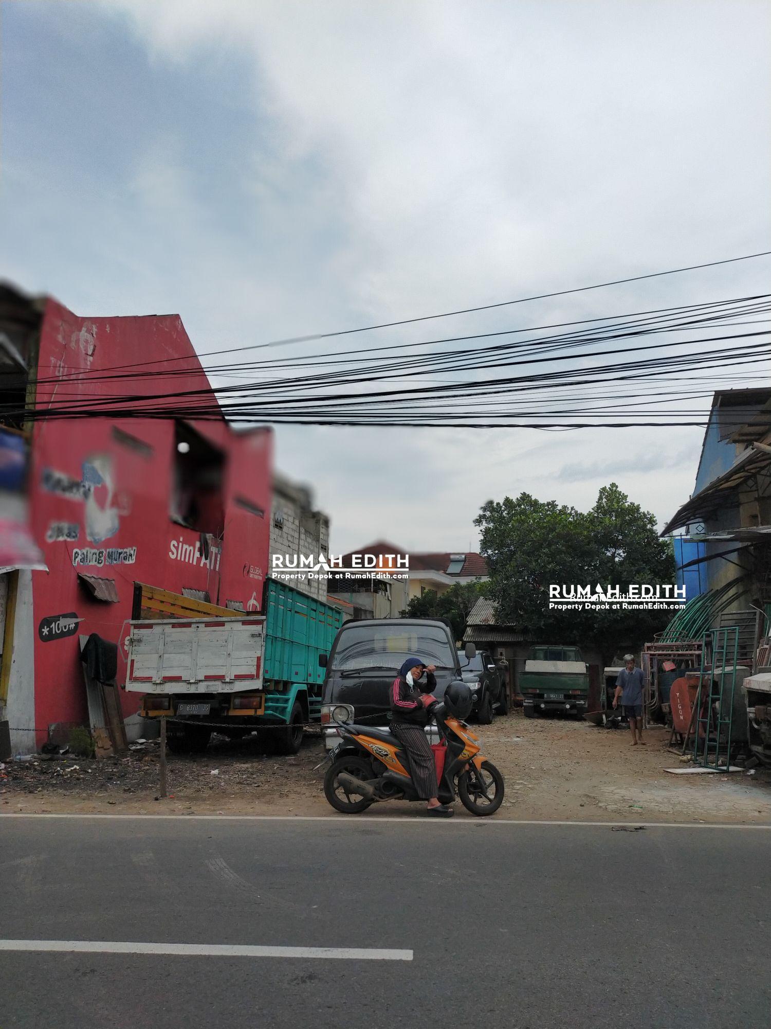 Dijual Tanah di Cipedak Jagakarsa, Pinggir jalan 390 m2