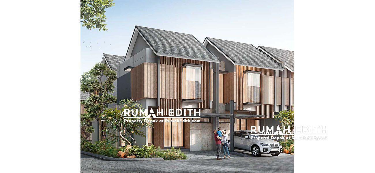 Dijual Rumah di dekat Serpong Tangerang. 2 lantai cuma 700 Jutaan, Nuansa Bali.