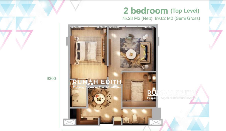 Dijual-Apartemen-Di-Kota-Tanggerang-Superblock-6