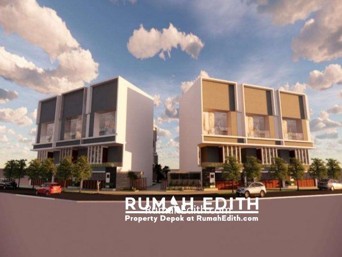 Rumah Mewah 3 Lantai Bentuk Town House Exclusive di Cilandak Barat Jakarta Selatan