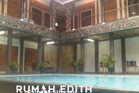 Rumah Second asri Luas ada kolam renang 5M di cinangka 1