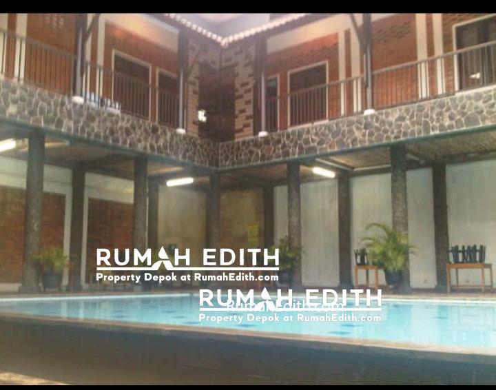 Dijual Rumah Second di cinangka, Depok. Luas 868 m2. ada kolam renang 5M