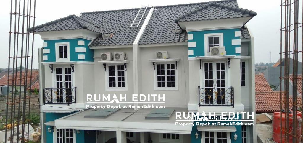 Rumah di jual harga 1-3M nego di daerah Tanah Baru Beji Depok rumah edith 2