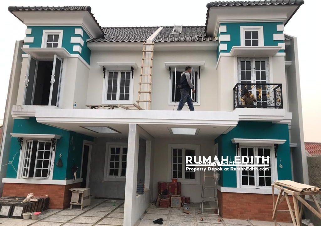 Rumah di jual harga 1-3M nego di daerah Tanah Baru Beji Depok rumah edith 3