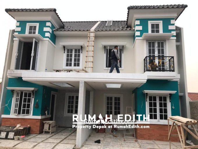 Rumah di jual harga 1-3M nego di daerah Tanah Baru Beji Depok rumah edith