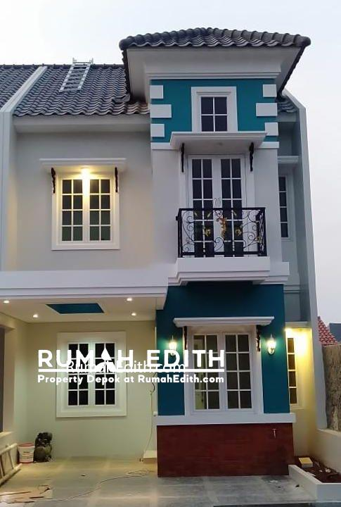 Rumah di jual harga 1-3M nego di daerah Tanah Baru Beji Depok rumah edith 7