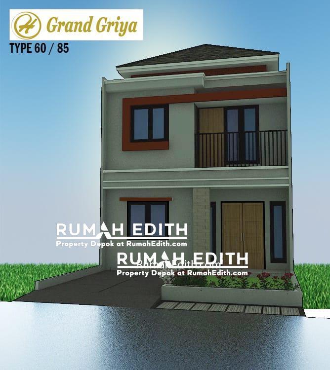 Dijual Rumah 1 menit ke Stasiun Citayam 2 lantai 785 juta