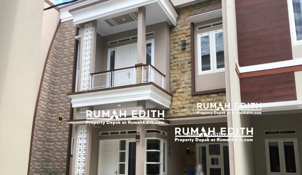 Dijual Rumah di Mampang Depok, 2 lantai dalam mini cluster 950 juta