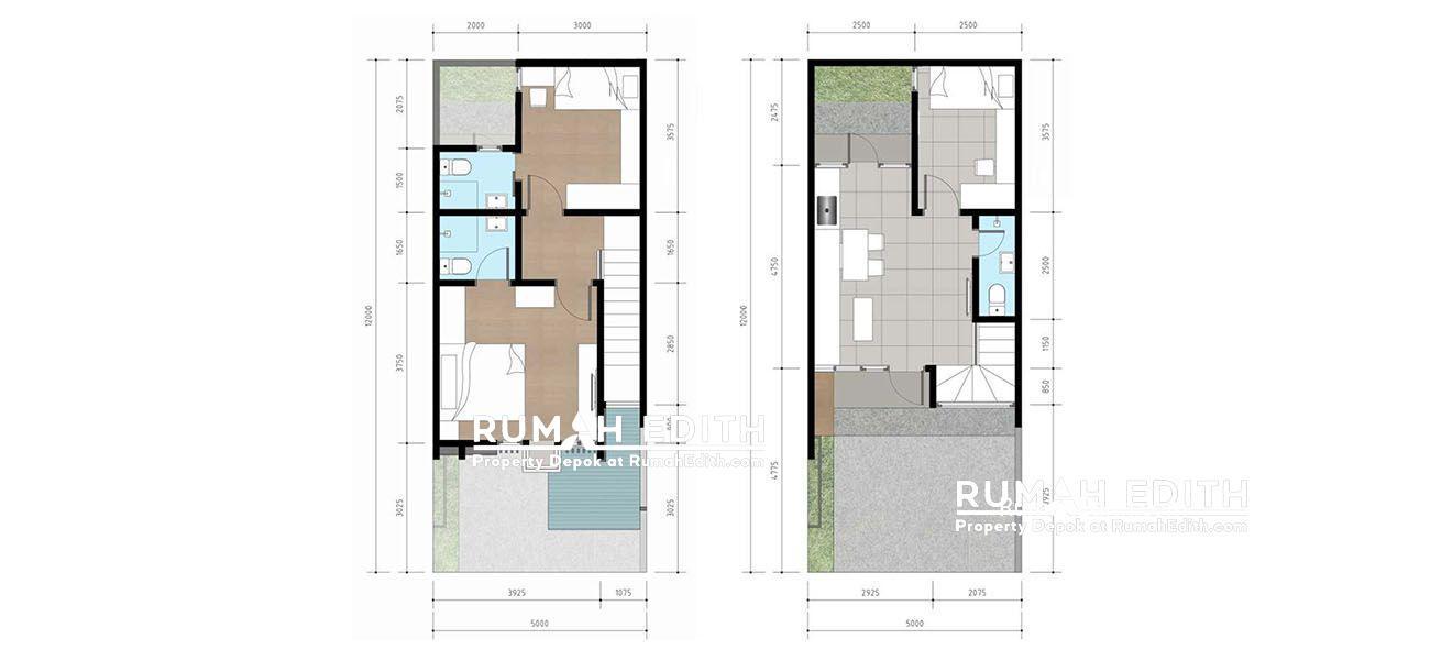 Denah Type Haus +