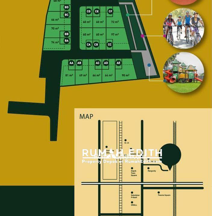 Dijual-Cluster-Exclusive-Di-Margonda-Depok-Murah-Dan-Bebas-Banjir-2