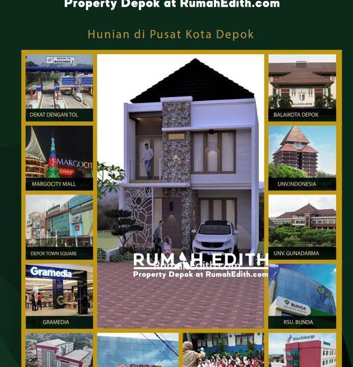 Dijual-Cluster-Exclusive-Di-Margonda-Depok-Murah-Dan-Bebas-Banjir-3