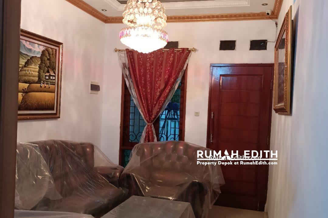 Dijual Rumah Full Furnished dalam komplek perumahan Kavling DPRD rumah edith 2
