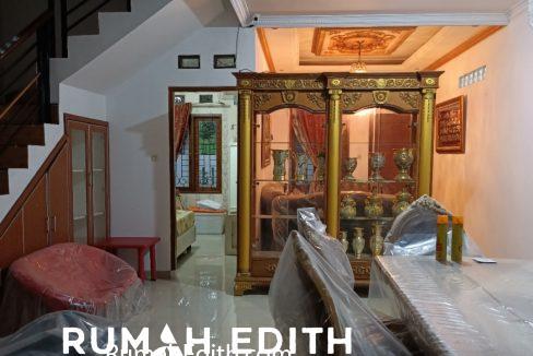 Dijual Rumah Full Furnished dalam komplek perumahan Kavling DPRD rumah edith 3