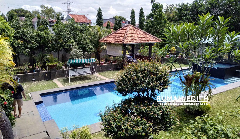 Dijual Rumah Second 2 unit di Limo Depok 17 M dalam 1 area ada kolam renang 19
