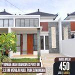 Dijual Rumah di Pengasinan Sawangan Nuansa Bali 450 Juta'an rumah edith