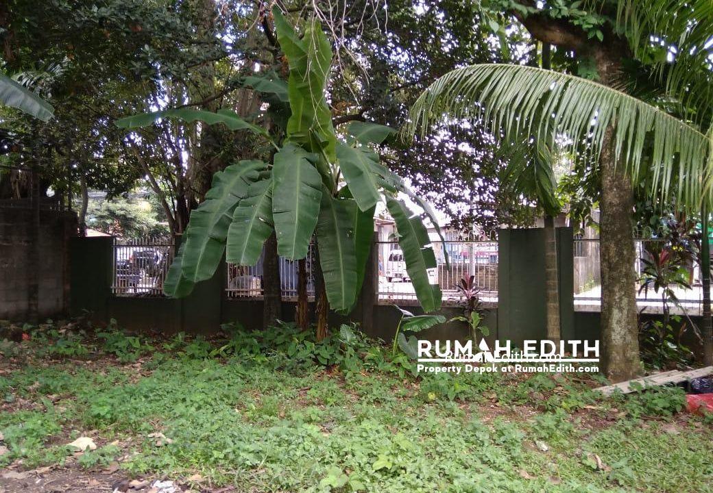 Dijual Tanah strategis pinggir jalan 387 m2 di Grogol Depok rumah edith 7
