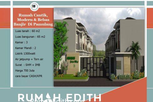 Dijual-Townhouse-Syariah-di-Pamulang-Tangerang-Selatan,-2-Lantai-2x