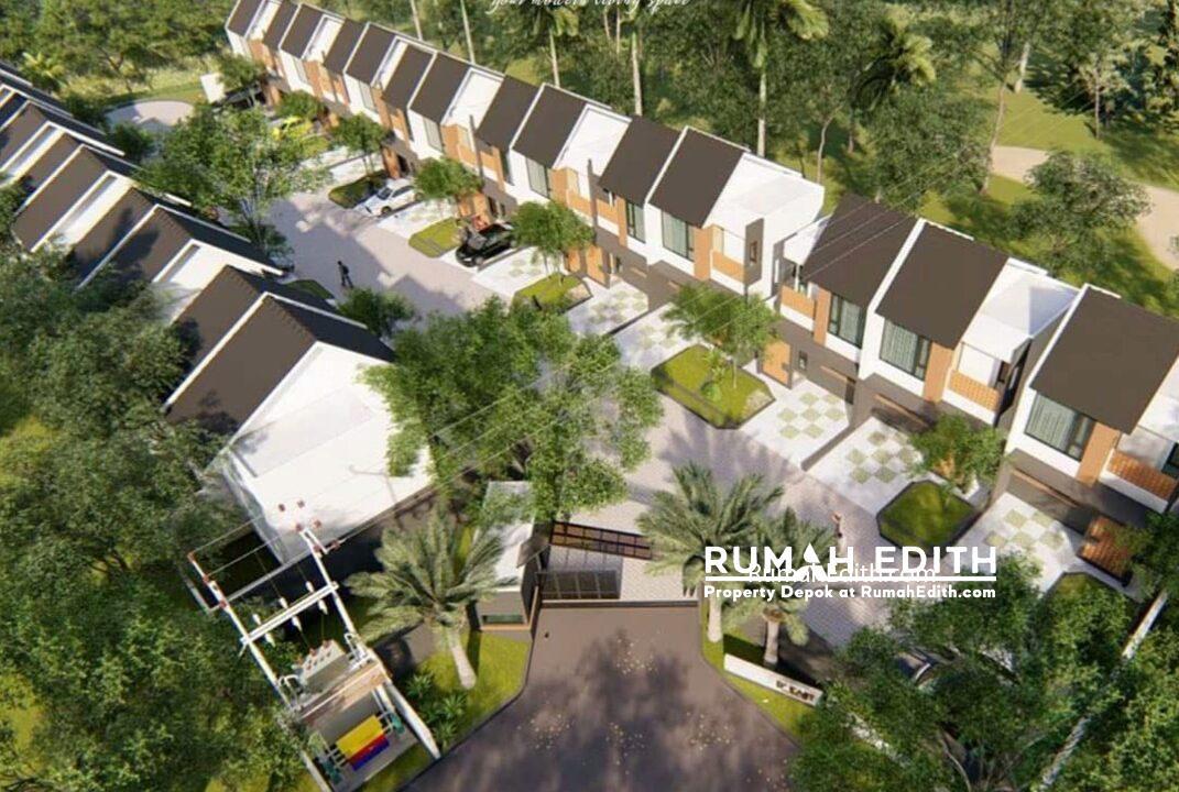 Dijual Townhouse di Cisalak, Cimanggis Depok. 976 juta rumah edith 11