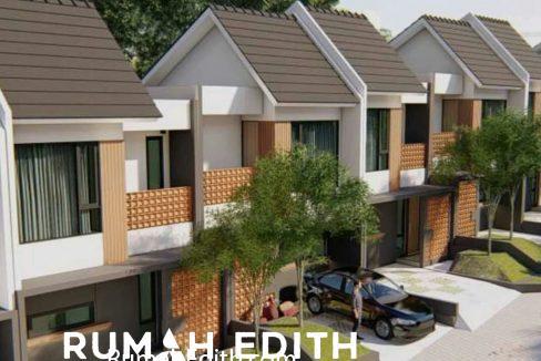 Dijual Townhouse di Cisalak, Cimanggis Depok. 976 juta rumah edith 12