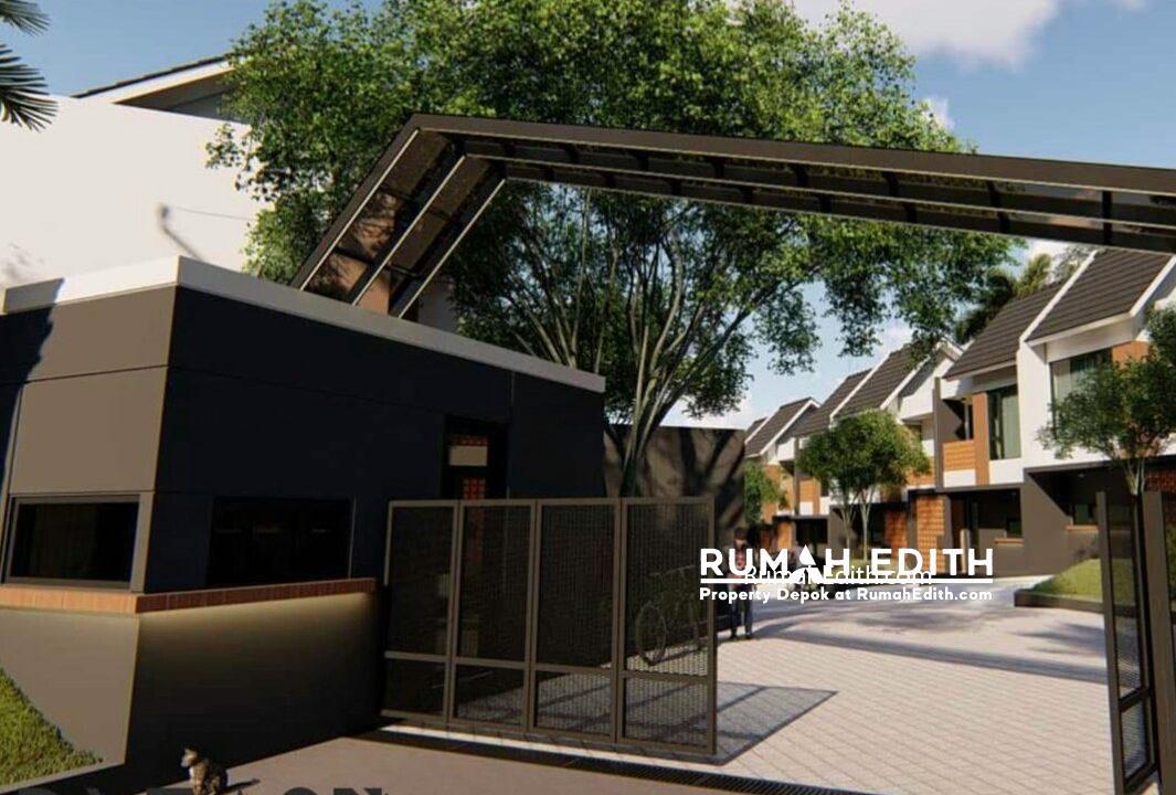 Dijual Townhouse di Cisalak, Cimanggis Depok. 976 juta rumah edith 6