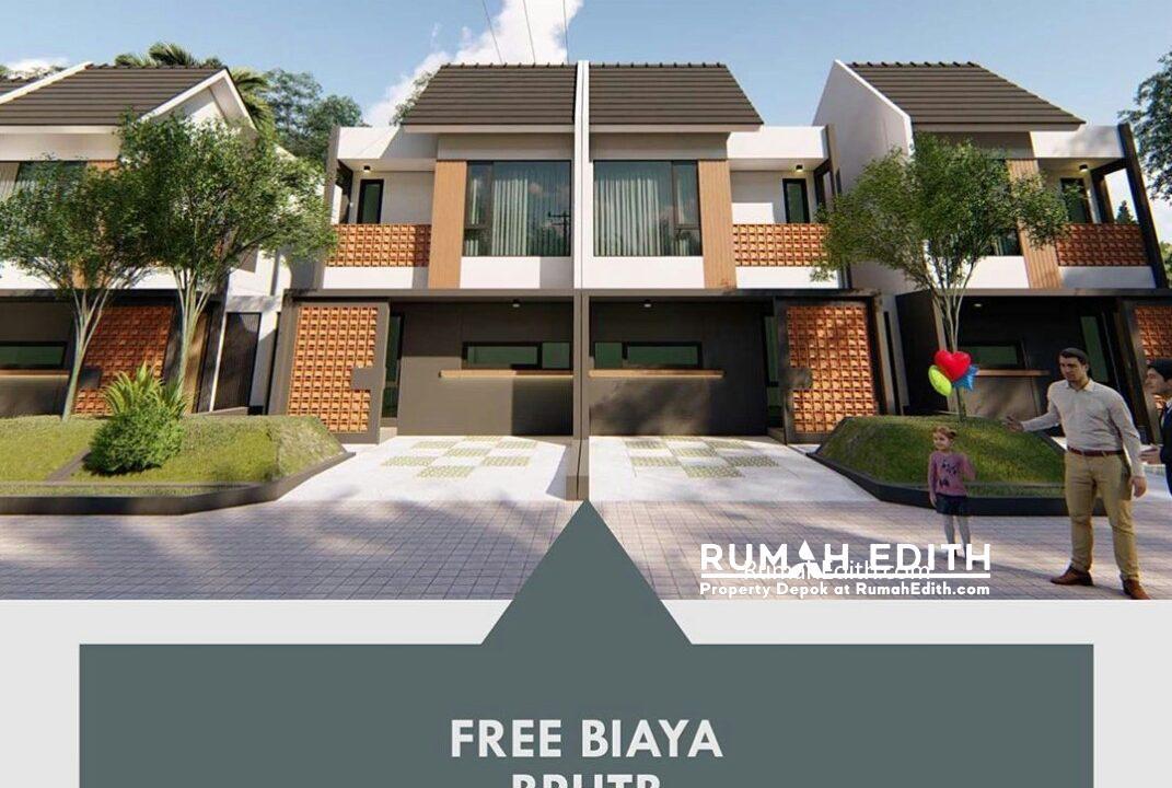 Dijual Townhouse di Cisalak, Cimanggis Depok. 976 juta rumah edith 9